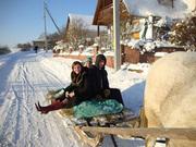 Новый год на озере Нарочь.